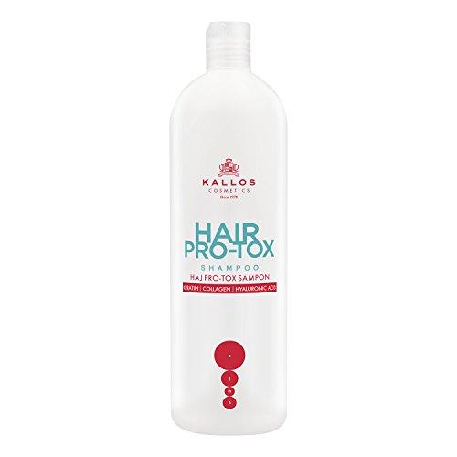 Kallos KJMN Haar Pro-tox Shampoo mit Keratin, Kollagen und Hyaluronsäure, 500 ml