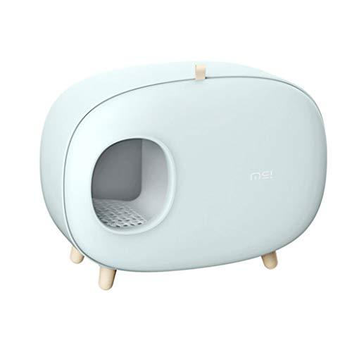 Lettiera Gatto Chiusa Lettiera Per Gatti Lettiera Box, Cat servizi igienici chiusi disegno del gatto di lusso lettiera con lettiera paletta for i gatti, facile da pulire, impedire alla sabbia di dispe