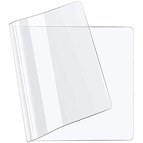 YXZN Alfombrilla para Silla de Oficina Alfombrilla de protección de Suelo de 1 mm Protección Transparente de Mesa para mesas rectangulares Protector de Mantel Transparente