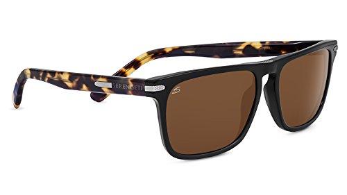Serengeti Eyewear Sonnenbrille Large Carlo, Black/Mossy Oak/Polarized Drivers, 8323