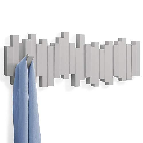 Qing MEI Creativo Decorativo Appendiabiti da Muro Appendiabiti da Parete porticato Portachiavi Abbigliamento Nordico Gancio Chiave del Pianoforte Gancio, Orizzonte, Ganci Decorazione a Bolle A+