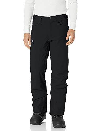 Salomon heren skibroek, ICEMANIA PANT M, synthetisch, blauw (night Sky)