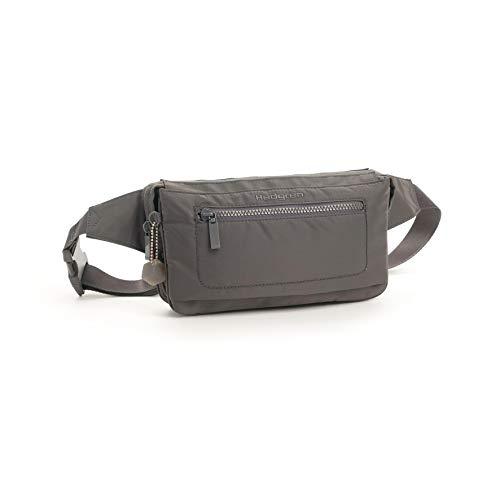 Hedgren Asharum Waistbag, Travel Waist Pack, Adjustable Strap, Tornado Grey-RFID, One Size