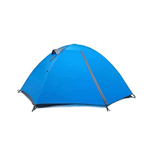 ZHONGTAI Tienda de Camping con Equipo a Prueba de Lluvia Engrosado Dos Pares Pareja Tienda Tienda Solar Tienda de sombreado para Acampar Senderismo Montañismo