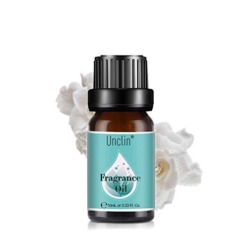 Unclin Aceites de Frangancia, Aceites Esenciales para Humidificador, Aromaterapia para Hogar, Oficina 10ml - Gardenia
