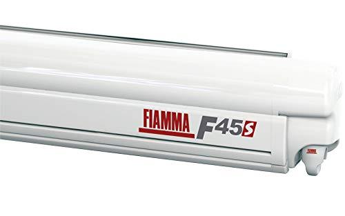Fiamma Markise F45s Polar White 400cm Royal Grey Sonnenschutz Fahrzeug Wohnwagen Vordach Sonnensegel
