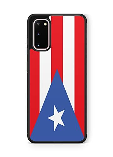 407Case Fits Galaxy s20 Puerto Rico Flag Hybrid Rubber Protective Case Puerto Rican Boriqua (Galaxy s20)