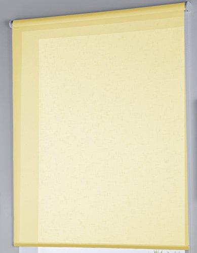 Rollertor Dresde - Estor Enrollable, Tela, Limon, 130 x 175 cm