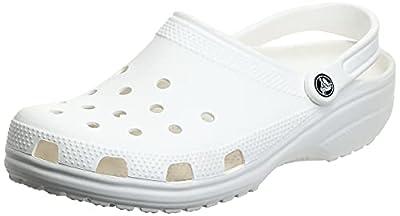 Crocs Kids' Classic Clog , White, 6 Big Kid by Crocs