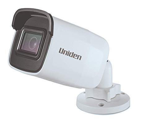 """Uniden (UC100B/DC) All-In-One Outdoor Bullet Camera, """"DVR Less"""" Recording, 1080p resolution, 100' Night Vision, Weatherproof, Power with PoE or with included 12V adapter & 100' ethernet cable"""