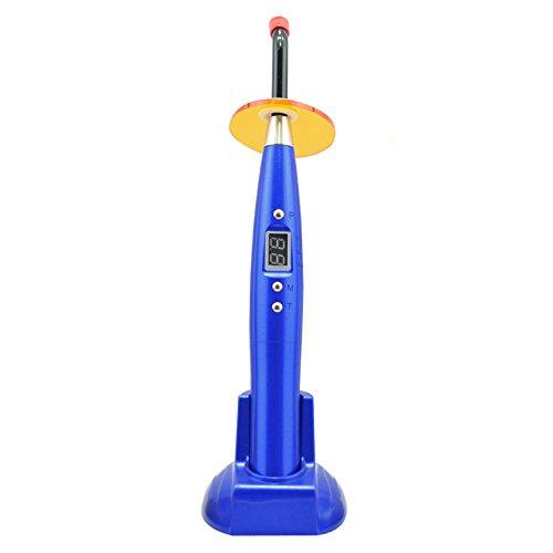 Carejoy LED-Lampe, kabellos, 5 W, 1500 mW/cm2, konstante Lichtintensität, automatische Abschaltung, Blau