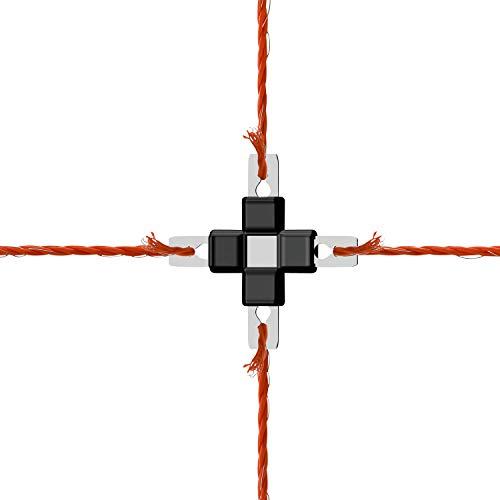 AKO Reparaturset Litzclip® 8-teilig, für Elektronetze, Weidenetze - praktisches Set für Netze, oder Litze - schnell und einfach Reparieren, ohne Werkzeug