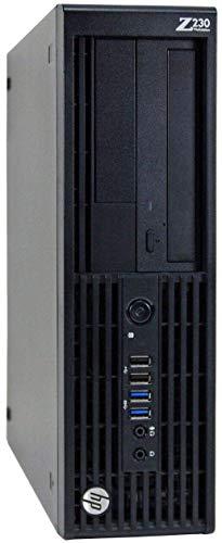HP Z230 Workstation Gaming Computer Desktop, Intel Core i5-4590, 8GB DDR3 RAM, 120GB SSD & 2TB HDD, USB 3.0, 4K...