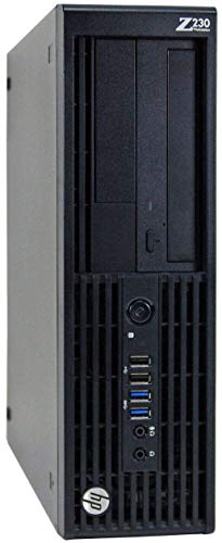 HP Z230 Workstation Gaming Computer Desktop, Intel Core i5-4590, 8GB DDR3 RAM, 120GB SSD & 2TB HDD, USB 3.0, 4K...