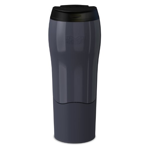 MIGHTY MUG GO - THE TRAVEL MUG THAT WON'T FALL OVER (0.47 LITRE), RED