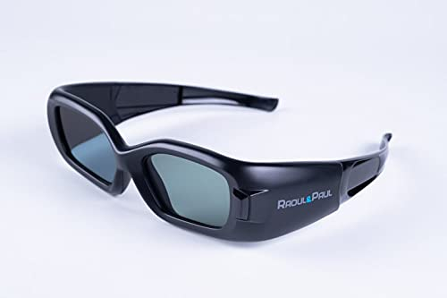 3D Active Glasses LCD Shutter IR Synchronization
