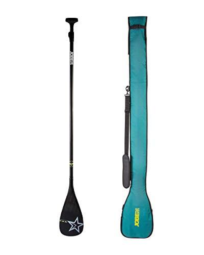 Jobe Carbon Pro Sup de 3 Piezas Stand Up Paddle Boarding + Paddle Bag - Ligero