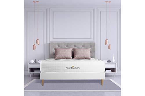 Materasso Buckingham 160 x 200 cm, Spessore : 30 cm, Memory foam, Bilanciato, 7 zone di comfort