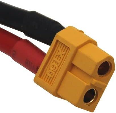 Conexión dividida de batería Lipo de 7,4 v 2200 mAh para pistola de agua 2S batería de 7,4 V para Mini para Airsoft BB pistola de aire juguetes eléctricos piezas de pistolas ( Color : XT60 )