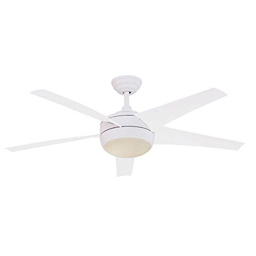 Home Decorators 52' 'Windward Iv' White Ceiling Fan with...