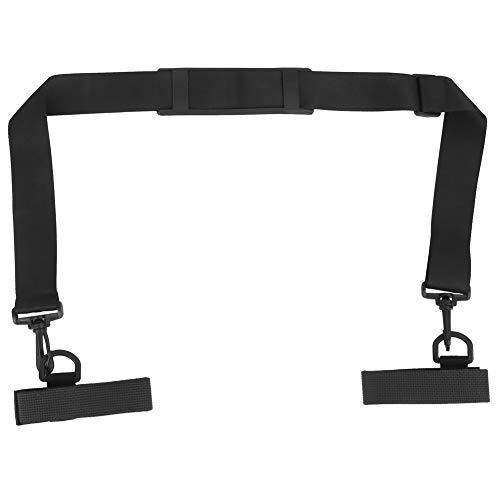 Leyeet Caña de pescar ajustable multifuncional bolsa de hombro correas Fly Rod Holder cinturón arnés trasero material de buceo 1