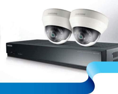 Samsung SRK-3020S - Kit de cámaras CCTV (4 Canales, PoE NVR)
