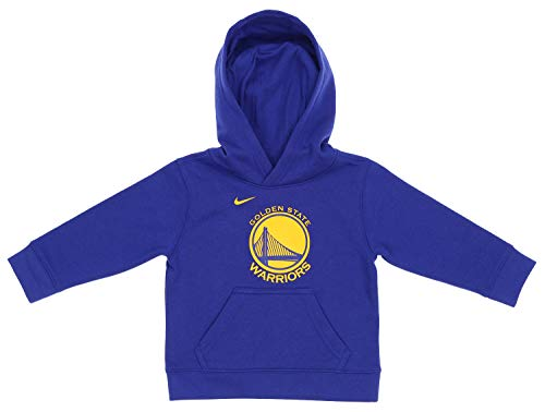 Nike NBA Little Boys Toddler (2T-4T) Essential Fleece Pullover Hoodie, Golden State Warriors 4T