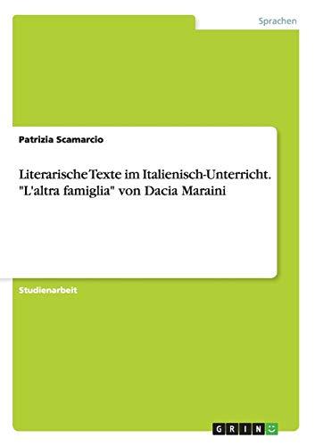 Literarische Texte im Italienisch-Unterricht.