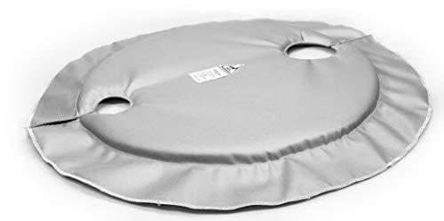 Purchase BriskHeat FGDC55 FGDI Drum Insulator Cover For 55-Gallon Drums, Round Shape, Diameter: 25-I...