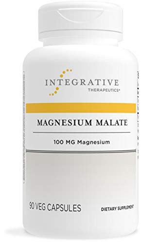 Integrative Therapeutics - Magnesium Malate - 100 mg of Elemental Magnesium - 90 Capsules