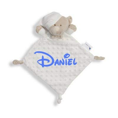 Dou Dou Atrapasueños Personalizado con Nombre Bordado Regalo para Baby Shower-Danielstore
