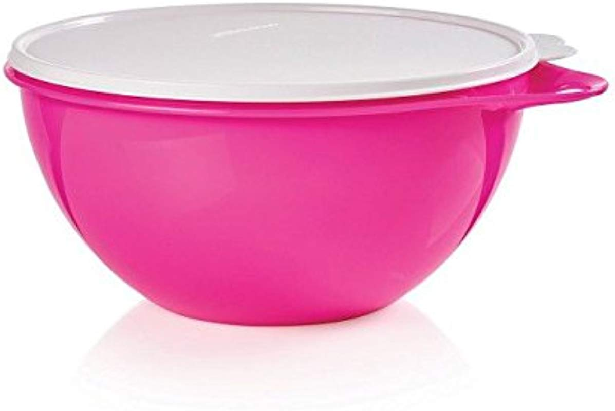 Tupperware Thatsa Bowl Jr Bowl 12 Cup In Confident Pink With Sugar Seal