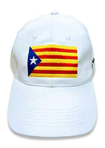 BreakMyStatusQuo - Gorra de béisbol con bandera catalana de la independencia