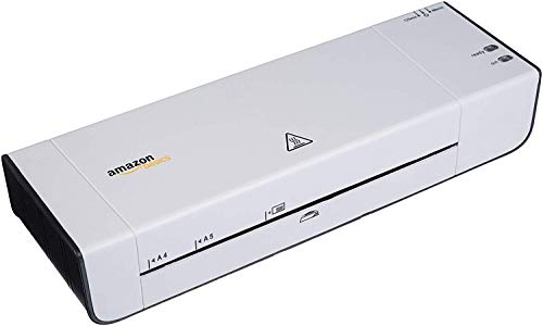 AmazonBasics Heißlaminiergerät für A4, Fotos (125/80Mic)