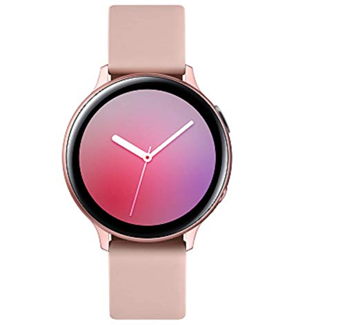 Samsung Galaxy Watch Active2 Explorer Edition, Fitnesstracker aus Aluminium, großes Display, ausdauernder Akku, wassergeschützt, 40 mm, inklusive 2x araree Gold