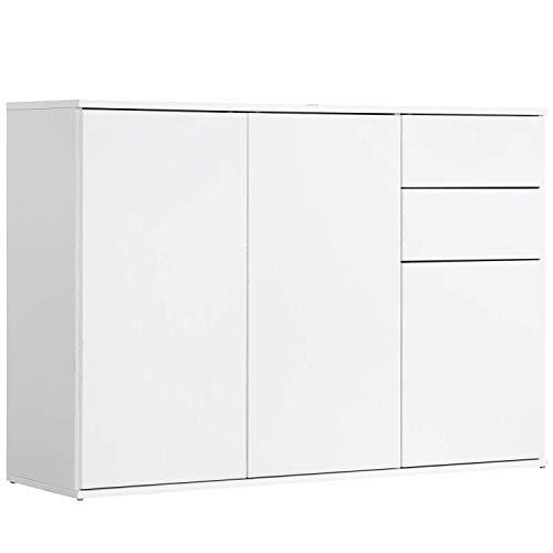 mokebo® Kommode 'Die Elegante', modernes Sideboard & Highboard, Made in Germany | 117x81x34 (B/H/T in cm)