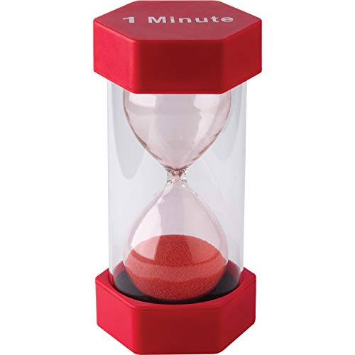 Teacher Created Resources-20657 1 Minute Sand Timer-Large - Multicolor