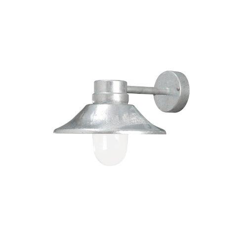 Konstsmide Lantaarn Vega, metaal/transparant, glas/metaal, 412-320