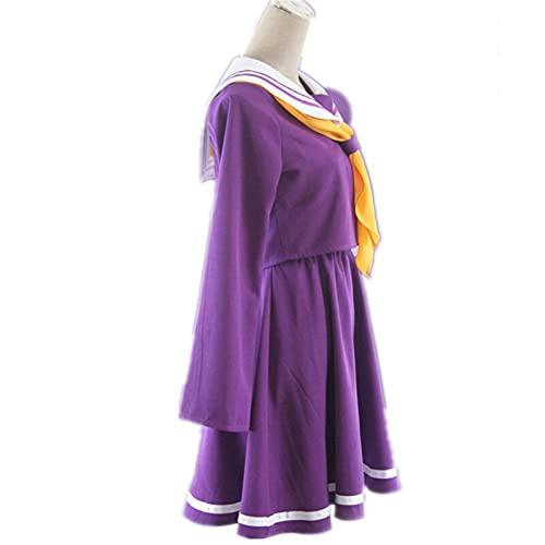 GDYJP Cosplay Shiro Disfraz de Halloween Mujer Ropa Vestido de carival Traje Marinero (Color : A, Tamaño : S)
