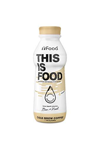 YFood Kaffee | Laktose- und glutenfreier Nahrungsersatz | 34g Protein, 26 Vitamine und Mineralstoffe | Leckere Astronautennahrung - 25% des Kalorienbedarfs | Trinkmahlzeit, 6 x 500 ml (1 kcal/ml)