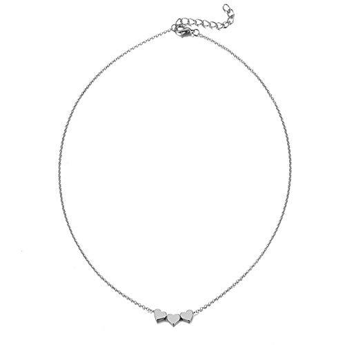 Dfgh Hanger ketting bohemien vrouwelijke double-layer ketting retro gouden gesneden munt ketting sieraden nieuwe 2020 (Metal Color : ZL0000666 3)