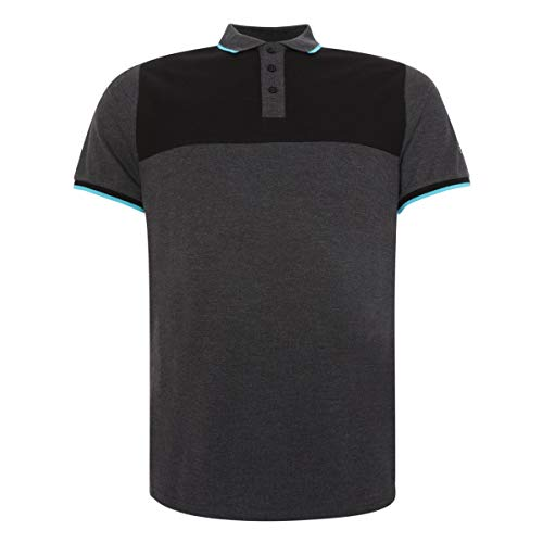 FC Liverpool Neon Panel Polo Shirt