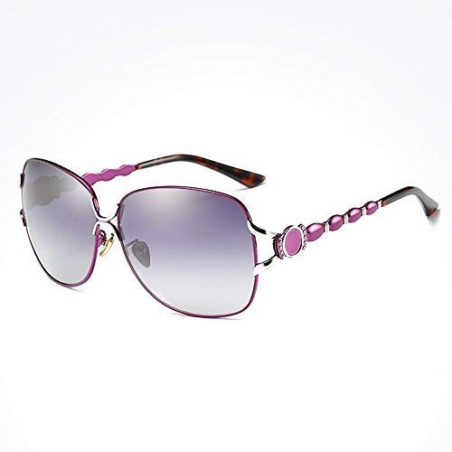 XFSE Gafas de Sol Hombres/Mujeres Gafas De Sol Polarizadas Viaje Rojo Deportes Al Aire Libre Conducción Gafas De Sol Playa Protección UV UV400 Estructura De Metal Ultra Ligero Unisex
