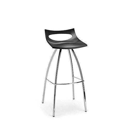 Scab Set 2 Design Diablito Tabouret avec siège h. 65 cm Gris Anthracite