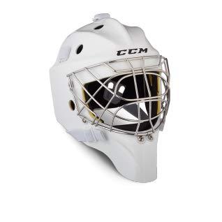 CCM Axis A1.5 Maske - Junior, Größe:Junior, Farben:weiß