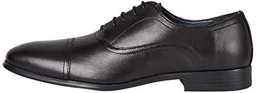 find. Axel_HS01 Zapatos de cordones oxford Men's, Negro (Smart Black Smart Black), 46.5 EU