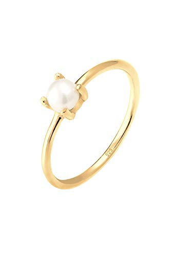 ring gold perle