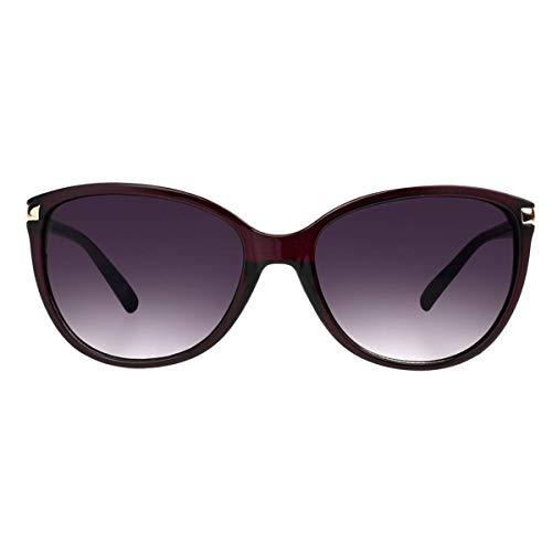 Foster Grant Women's SFGF18014 Emilie' Sunglasses, Plum, One Siz