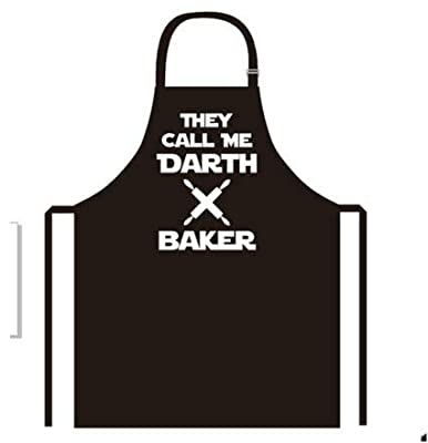 new creative darth baker apron kitchen cooking baking bbq apron for men and women bring your dinner party to life with our novelty funny cooking apron from Positive Products Ireland