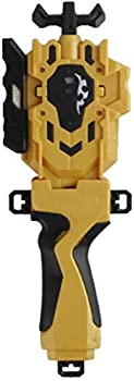 Speder Bey Gyro Blades Launcher and Grip  Light Sparking Battling Burst String Launcher Gyro Left&Right LR Spin Top Compatible with All Bey Burst Series Battling  Gold